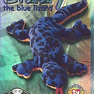 TY Beanie Babies Collection Lizzy the Lizard